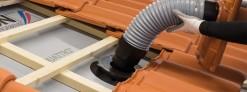 Jak zamontować kominek wentylacyjny na dachu?